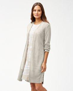 Cedar Linen Long Cardigan