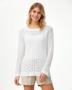 Cedar Linen Pullover Sweater