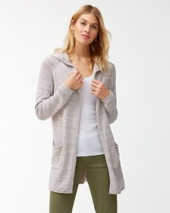 Anacapa Open Linen-Blend Cardigan