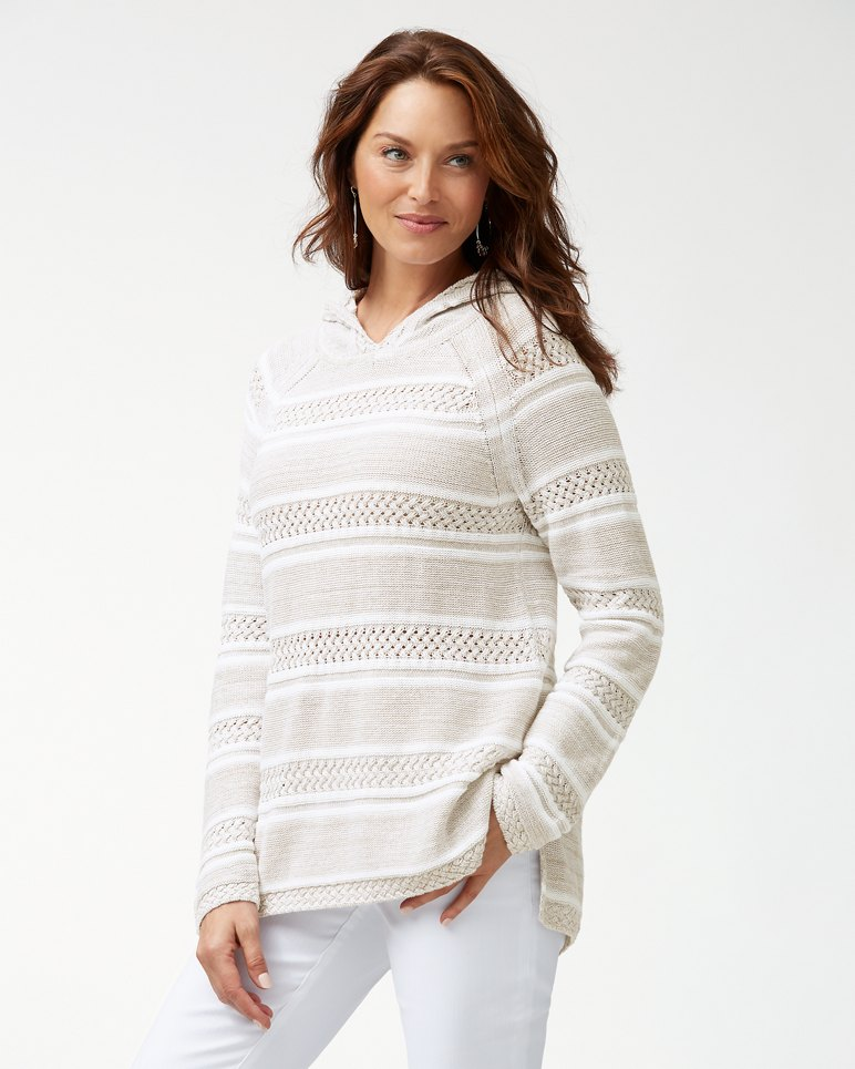 Main Image for Anacapa Marled Linen-Blend Hoodie