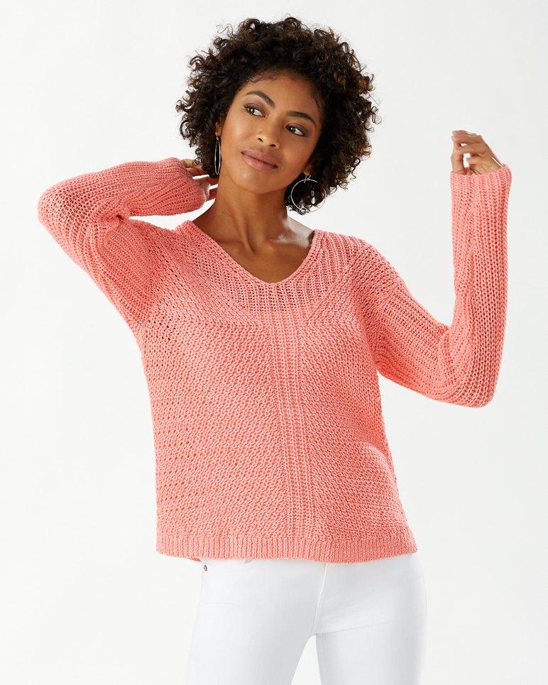 Main Image for Gea Mesa V-Neck Sweater