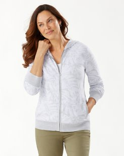 Melina Monstera Full-Zip Hoodie