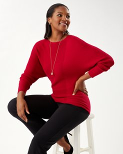 Bonita Dolman Boatneck Sweater