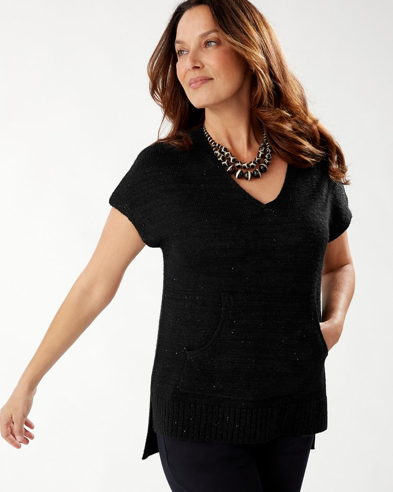 Main Image for Solana Sequin V-Neck Sweater
