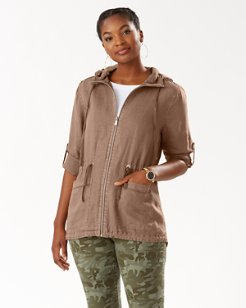Two Palms Linen Anorak