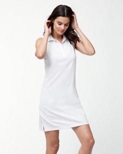 Paradise Sleeveless Polo Dress