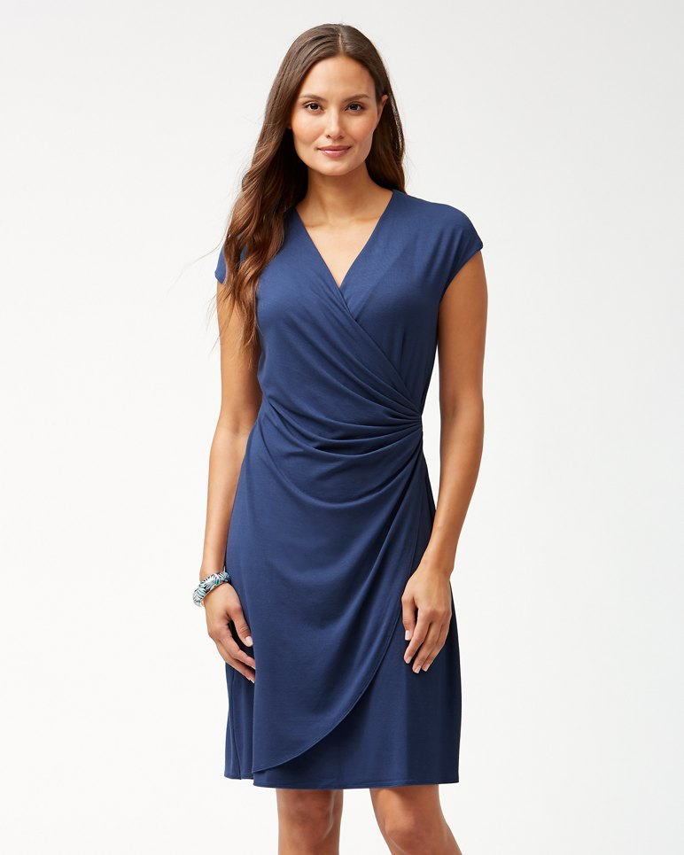 Main Image for Tambour Side-Gathered Dress