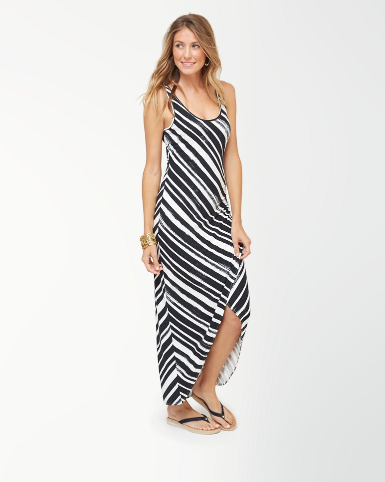 Main Image for Brushed Breaker Tambour Maxi Dress