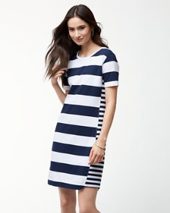 Thera Stripe T-Shirt Dress