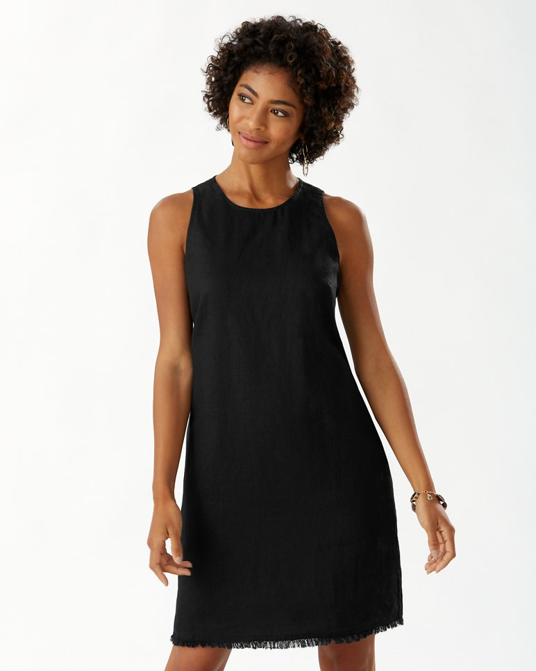Main Image for Two Palms Linen Shift Dress