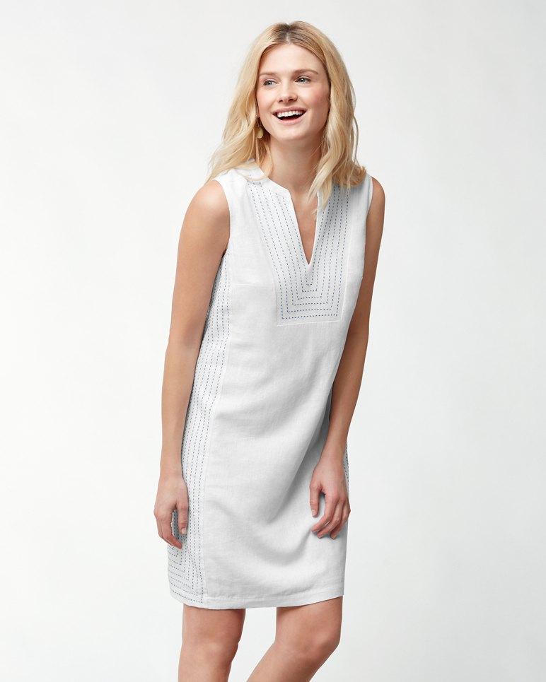 05826dd79cd Main Image for Daphne Linen-Blend Shift Dress