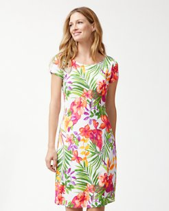 Marabella Blooms Ponte Dress