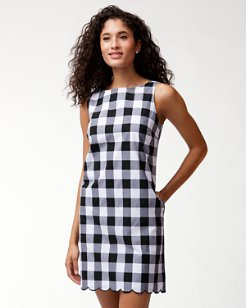 Gingham Gables Shift Dress