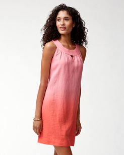 Two Palms Linen Sundress