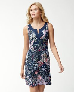 Paisley Promenade Tambour Dress