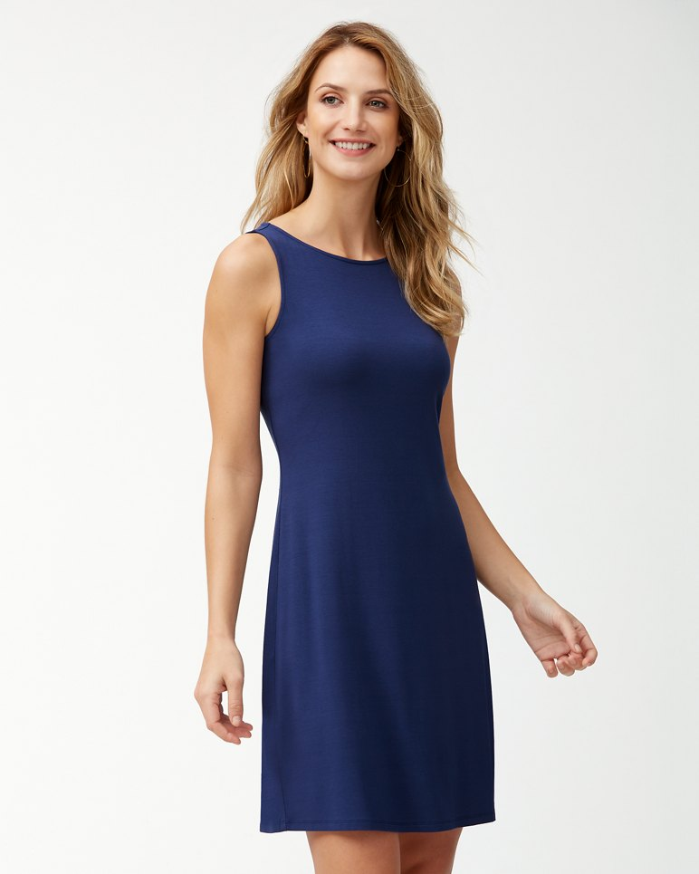 Main Image for Tambour Sleeveless Shift Dress