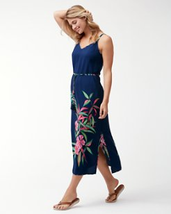 Lucky Bamboo Midi Sundress