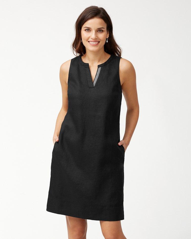 be97b247 Main Image for Sea Glass Linen Shift Dress