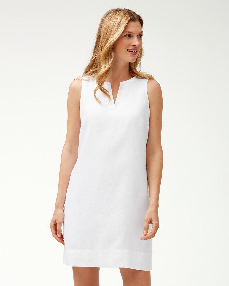 f729cfc358 Main Image for Sea Glass Linen Shift Dress. New Colors
