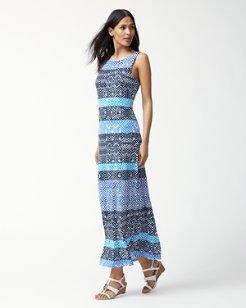 Mayan Maze Maxi Dress
