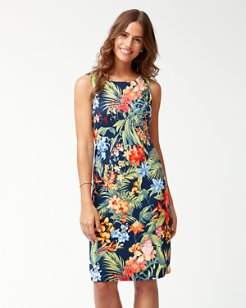 Bonita Botanical Ponte Sheath Dress