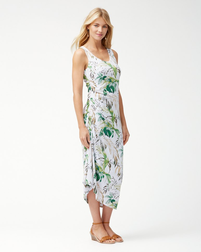 Main Image for Don't Leaf Me Now IslandZone® Midi Dress