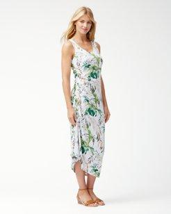 Don't Leaf Me Now IslandZone® Midi Dress