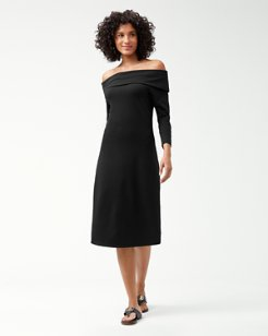 IslandZone® Off-The-Shoulder Midi Dress