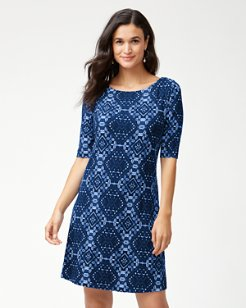 Indi-Coco Tambour Shift Dress