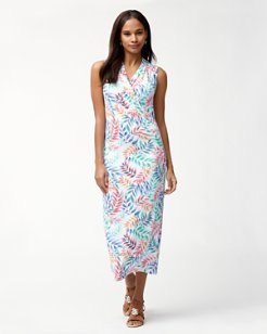 Holi Frondi IslandZone® Midi Dress