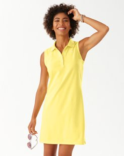 Paradise Classic Sleeveless Polo Dress