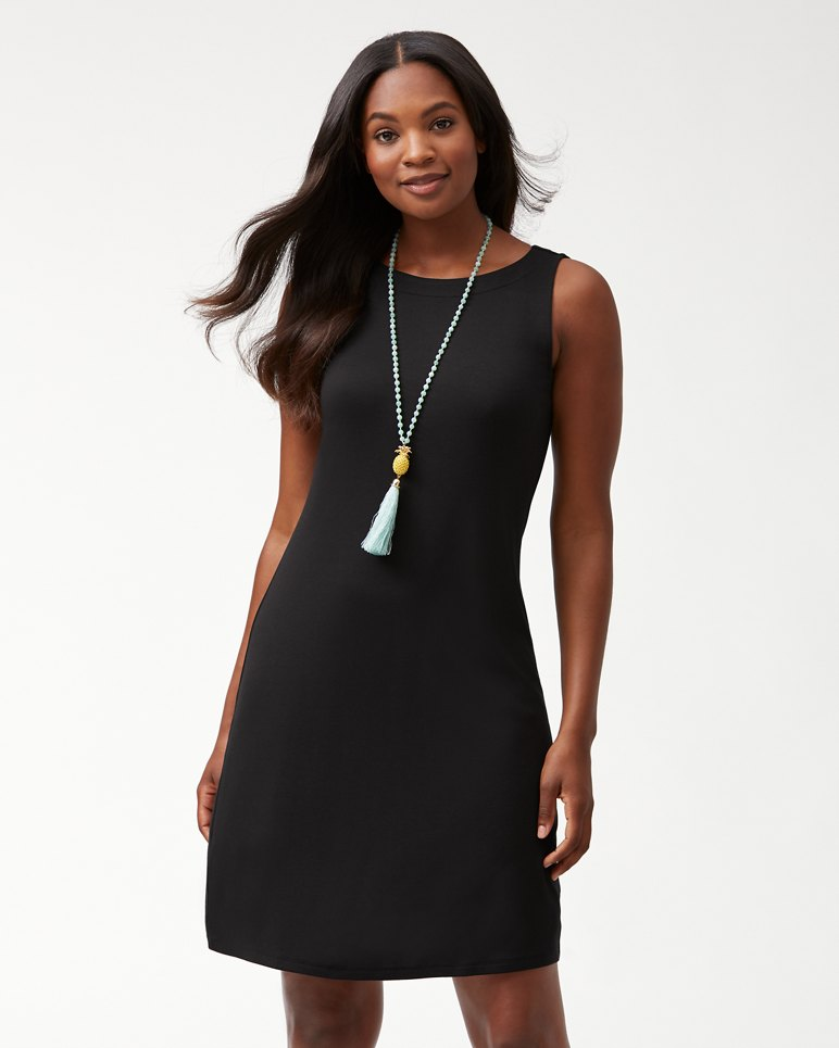 Main Image for Drapey Ponte Sheath Dress
