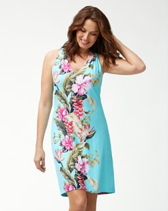 Kahuna Cascade Tambour Dress