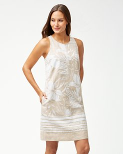 Mahana Linen Shift Dress