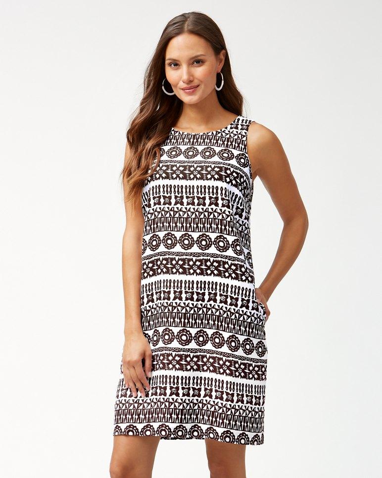 Main Image for Tahiti Tango Linen Shift Dress