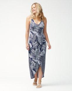 Lava Cove Mix Print Tambour Maxi Dress