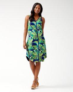 Lovely Leaves Midi Dress