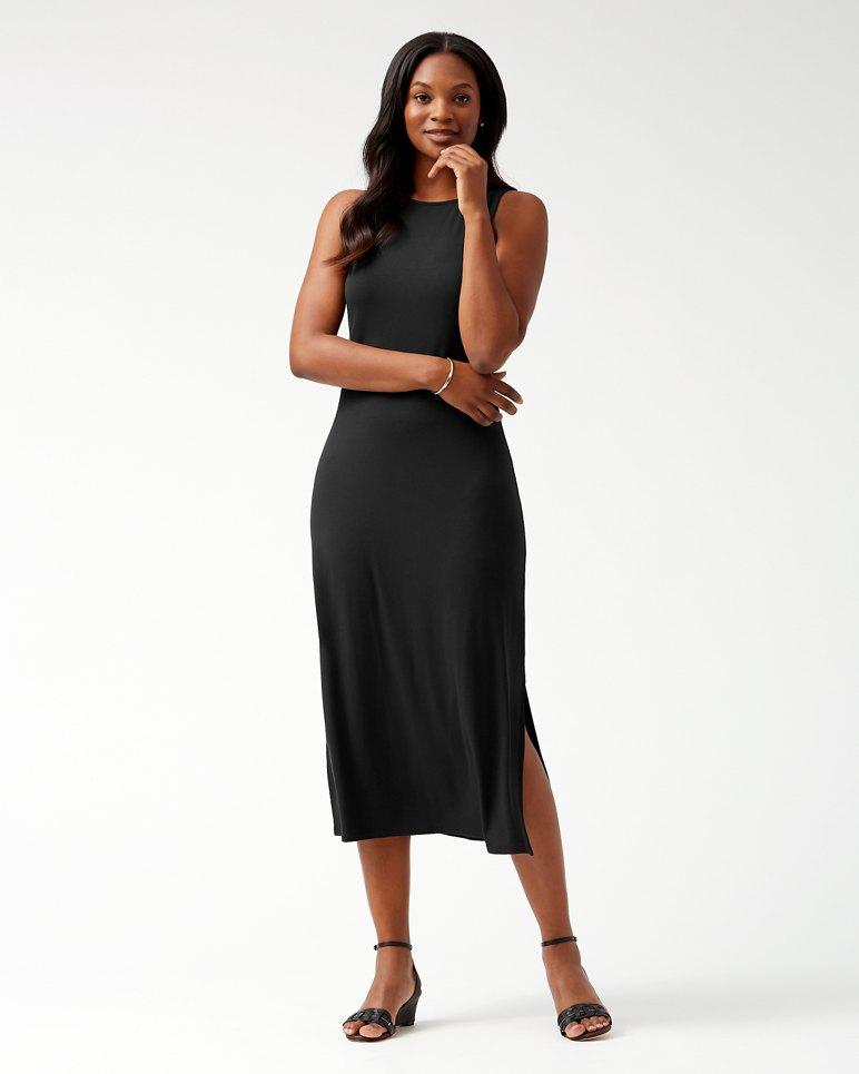 Main Image for Tambour Sleeveless Midi Dress