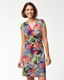Cactus Rica Wrap Dress
