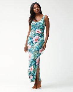 Flora Bora Tambour Maxi Dress