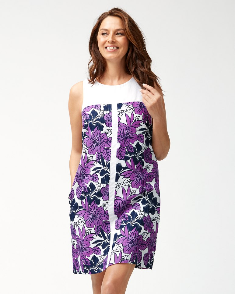 Main Image for Blissful Blooms Linen-Blend Shift Dress