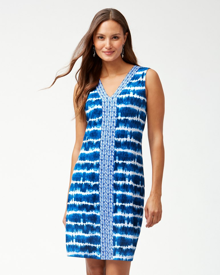 Main Image for Oliana Stripe Tambour Shift Dress