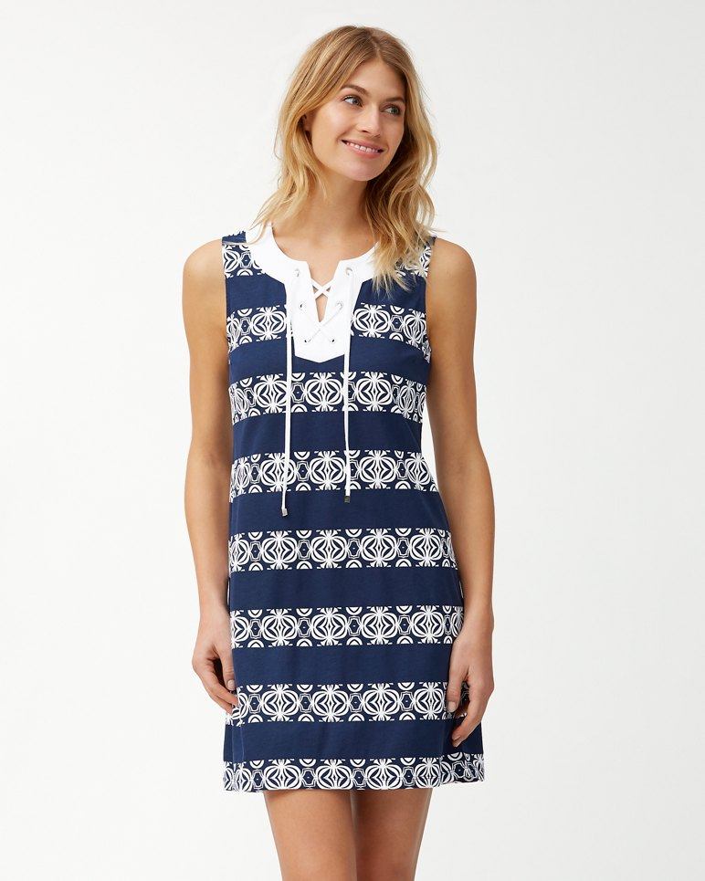 Main Image for Bungalow Geo Stripe Shift Dress