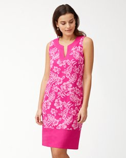 Hoani Hibiscus Shift Dress
