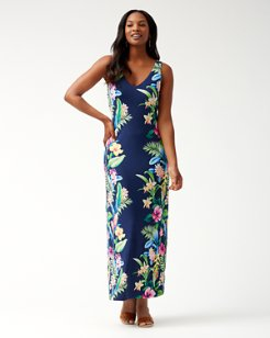 Tropicalia Tambour Maxi Dress