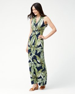 Fiesta Palms Tambour Maxi Dress