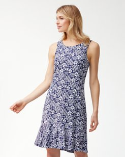 Florico Flounce Ponte Dress