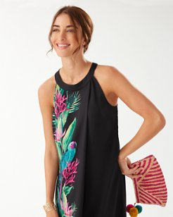 Paradiso Parrots Halter Dress