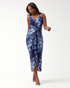 Under The Si Tambour Maxi Dress
