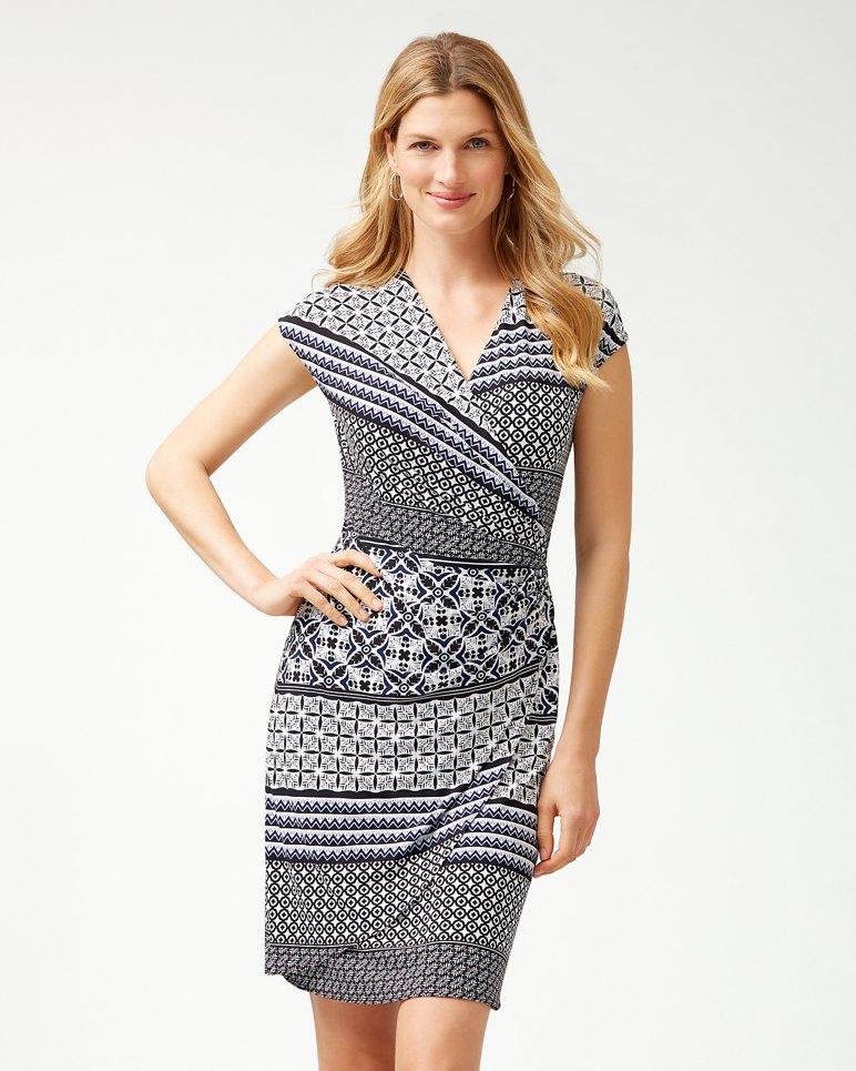 Main Image for Tropical Terrazza Wrap Dress